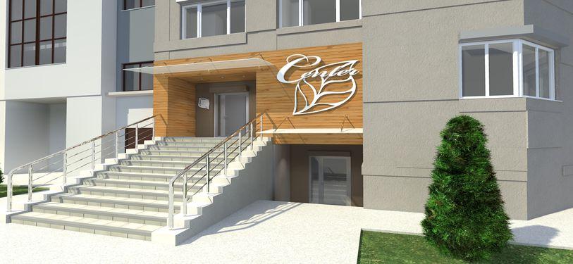 Проектирование фасада косметологического салона 1