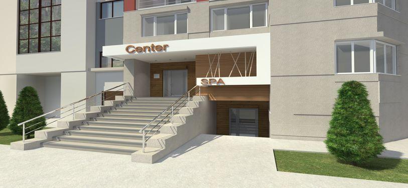 Проектирование фасада косметологического салона 2