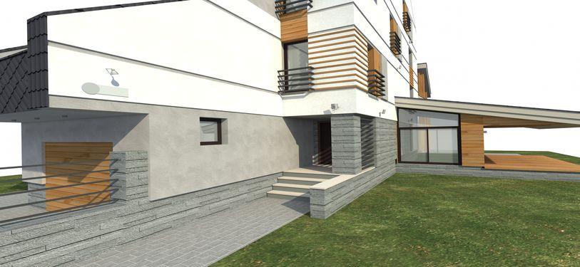 Проект фасада в Тольятти 1