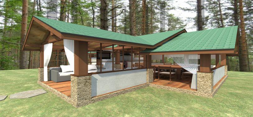 Проект летней кухни 2